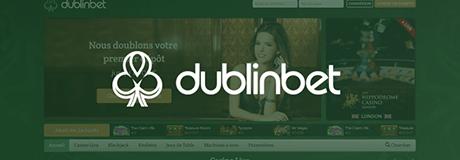 Dublinbet casino's banner