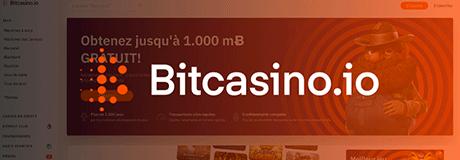 Bitcasino casino's banner