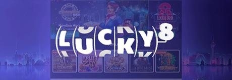 Lucky8 casino's banner